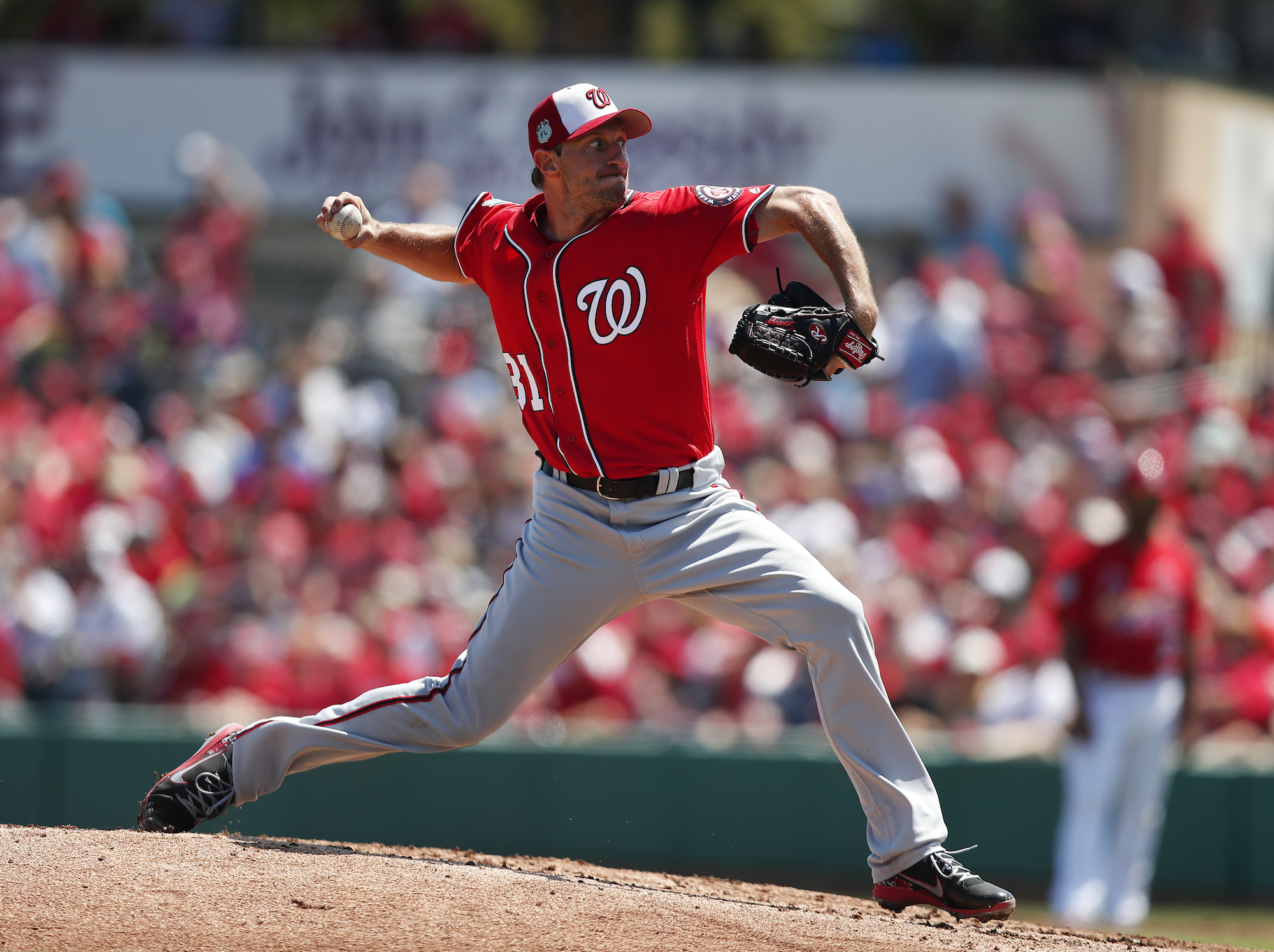 Max Scherzer leads the Nats' rotation again, which ain't a bad thing. (AP)