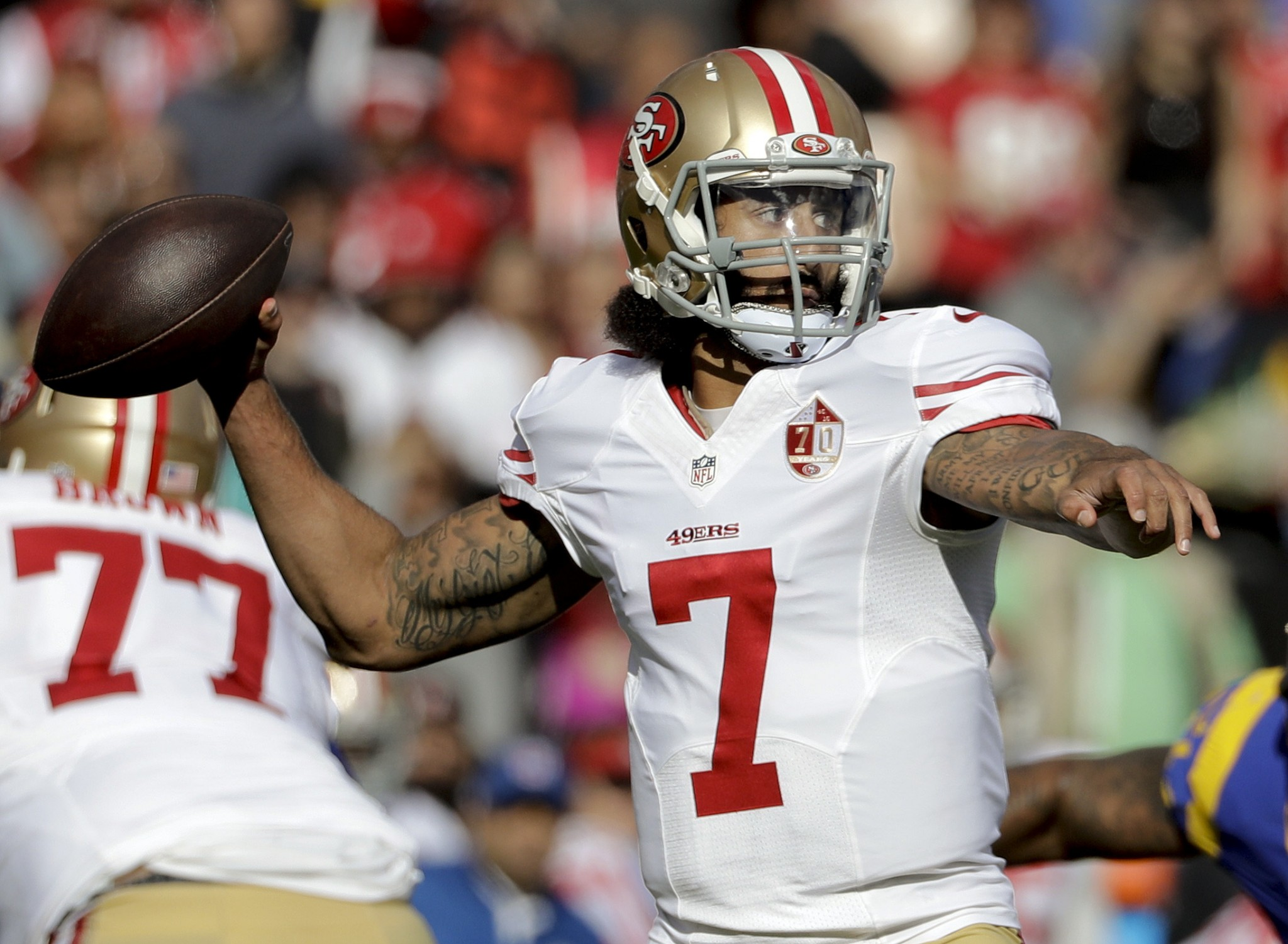 Goodell on talking to Kaepernick: 'Not something I've thought about'