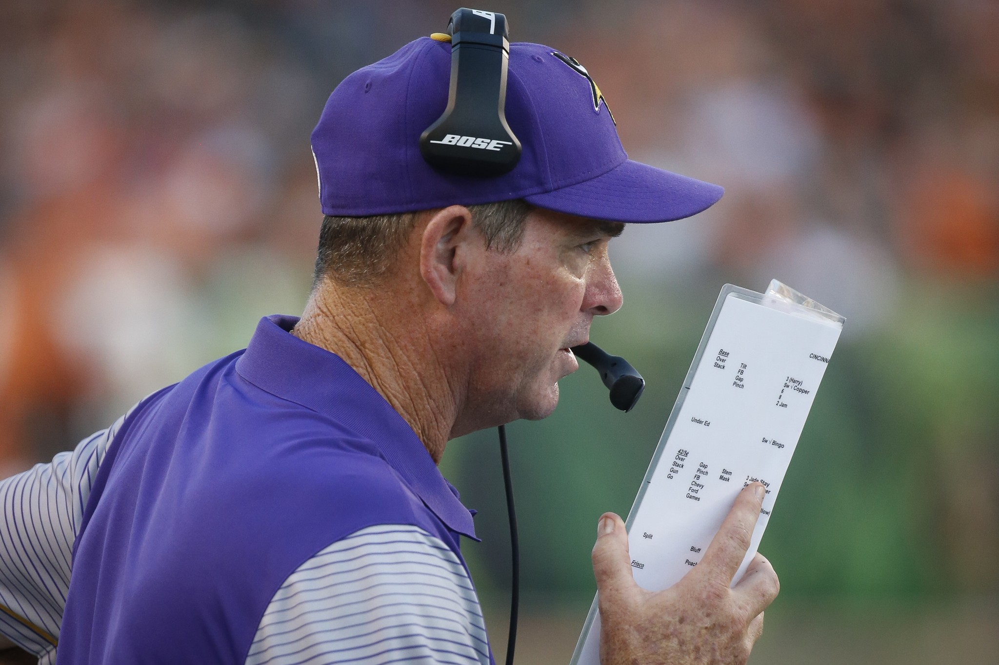 Mike Zimmer back with Vikings, expected to travel with team to …