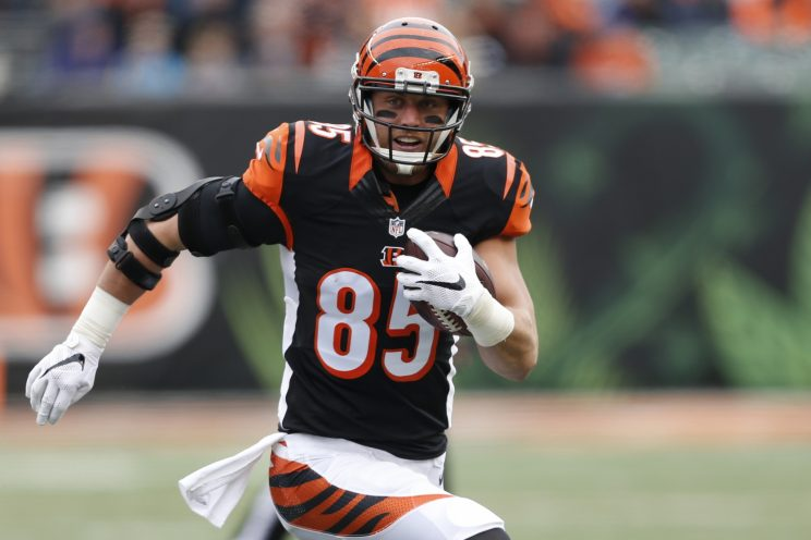 Tyler Eifert gives a timetable for his return from ankle surger…