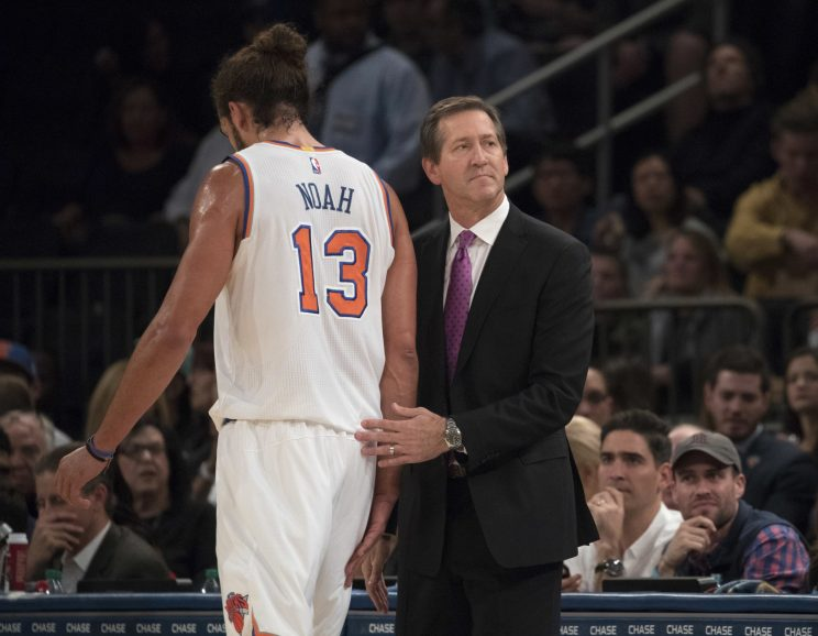 The Knicks and their coach are 'far away from' being on the sam…