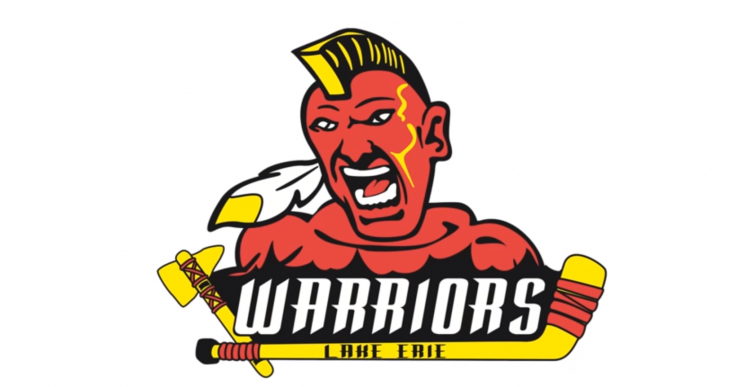 Congrats on the most racist logo in hockey, Lake Erie