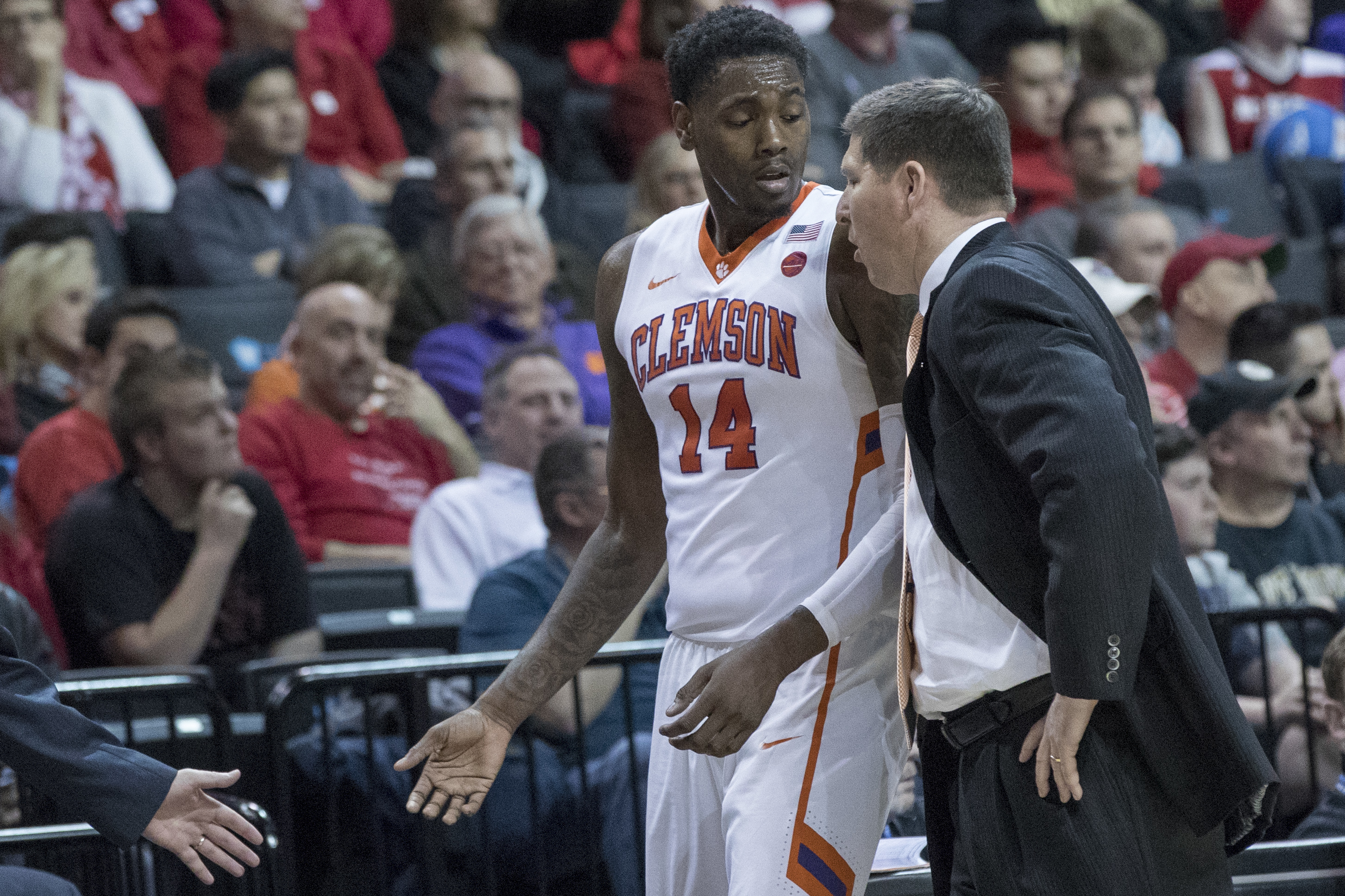 0a74e4509cc2 Clemson was one of several college basketball programs in Barcelona when  Thursday s apparent terrorist attack occurred. (AP)