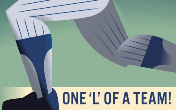 Cubs take an 'L' after this awkward postseason poster starts to circulate