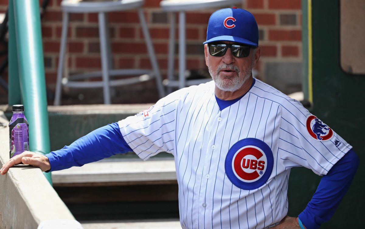 Joe Maddon reacts to Cubs' players' criticism of 'spring traini…