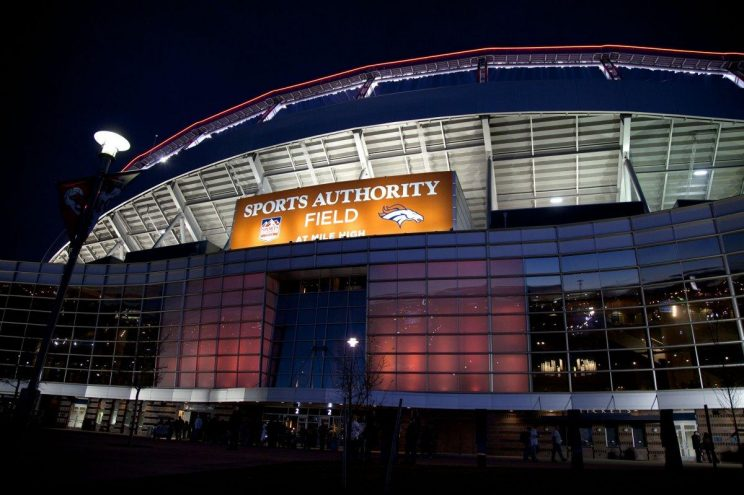 A fan died falling from Denver's Mile High stadium after the Broncos game