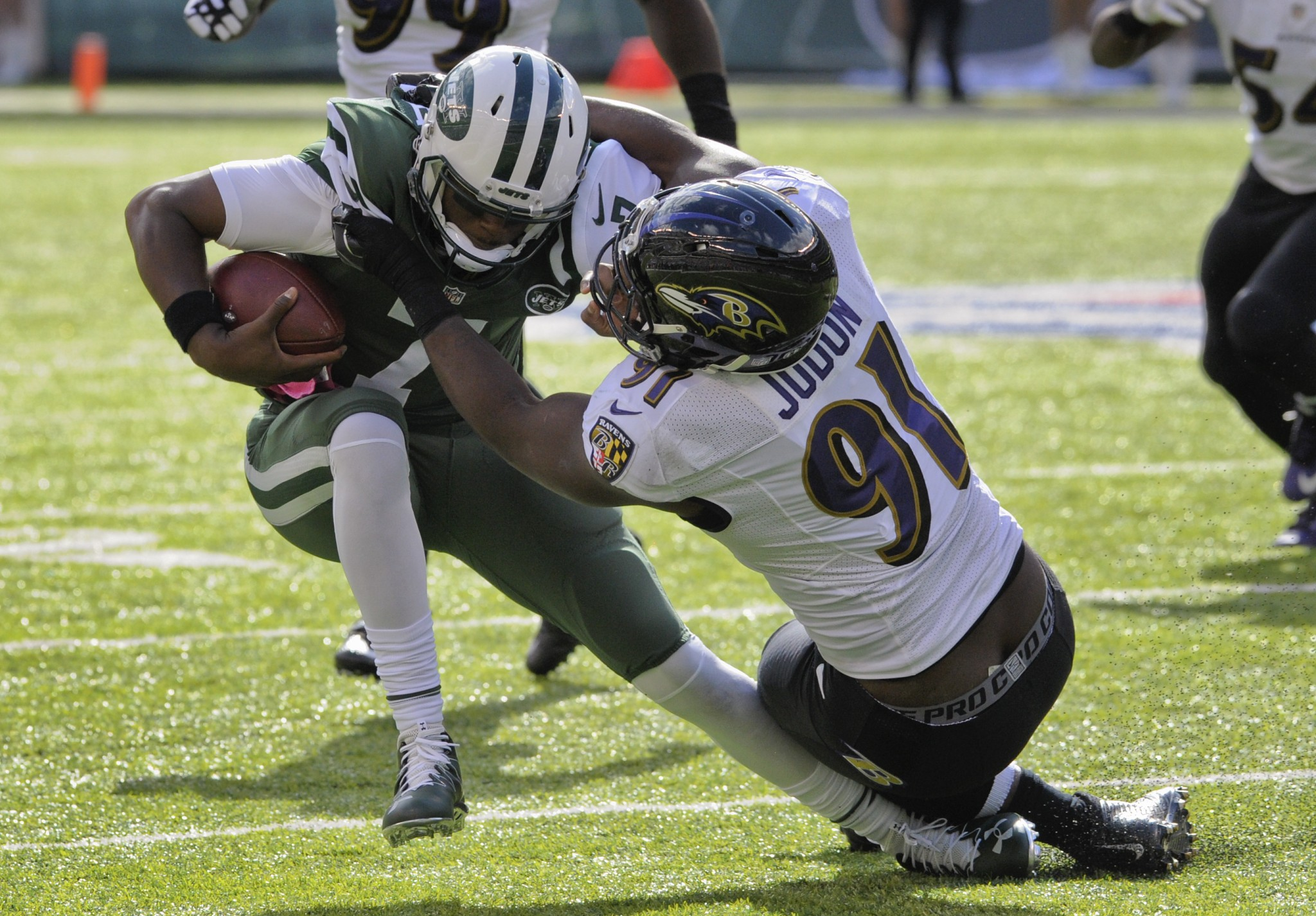 Geno Smith (knee) knocked out, so Jets have to turn back to Rya…