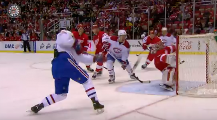 Petr Mrazek with save of the year candidate vs. Canadiens (Vide…