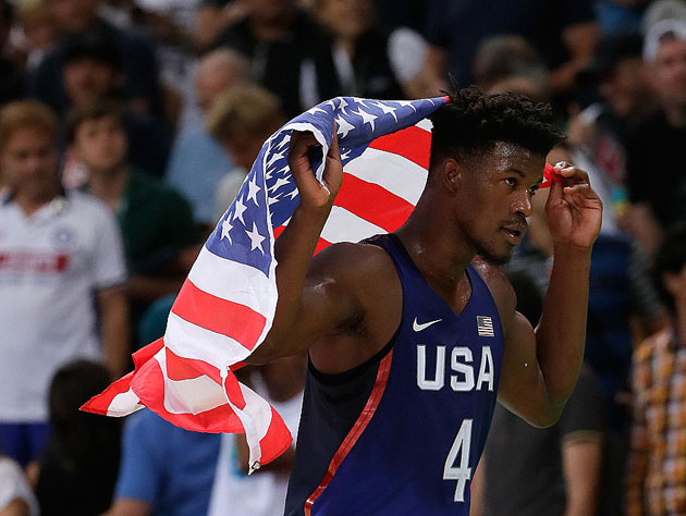 Jimmy Butler should be a sound candidate for the 2020 Games. (Getty Images)