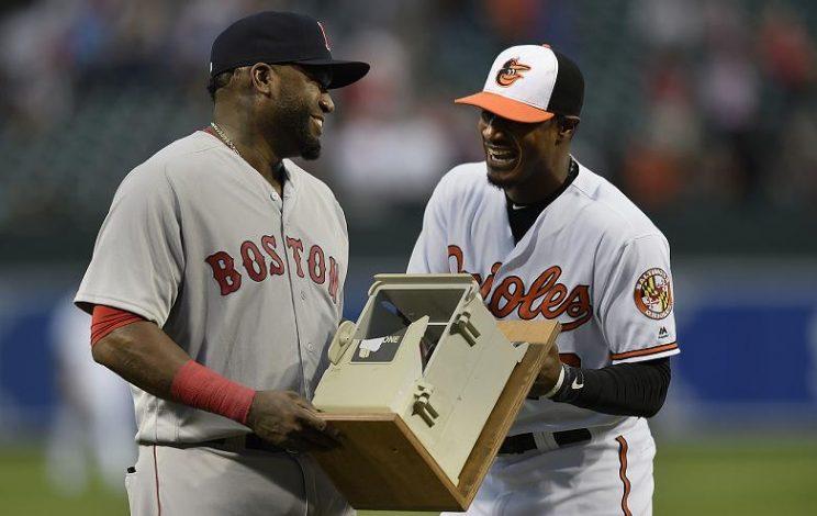 Adam Jones didn't like Orioles farewell gift to David Ortiz
