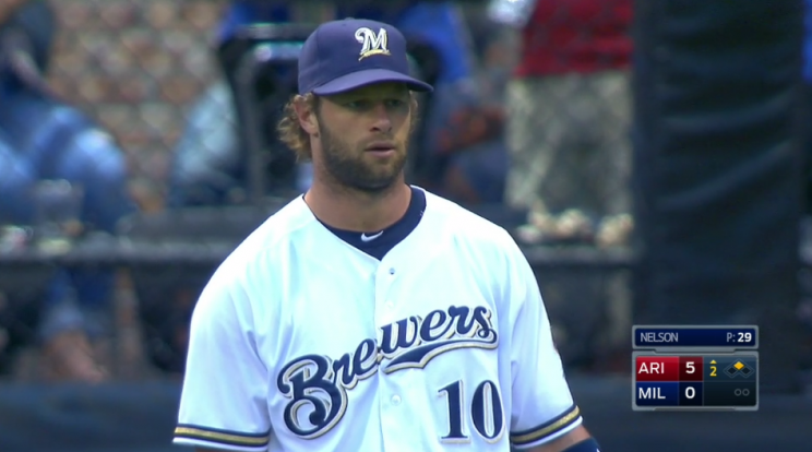 Brewers have an error party, committing five in two tragic inni…