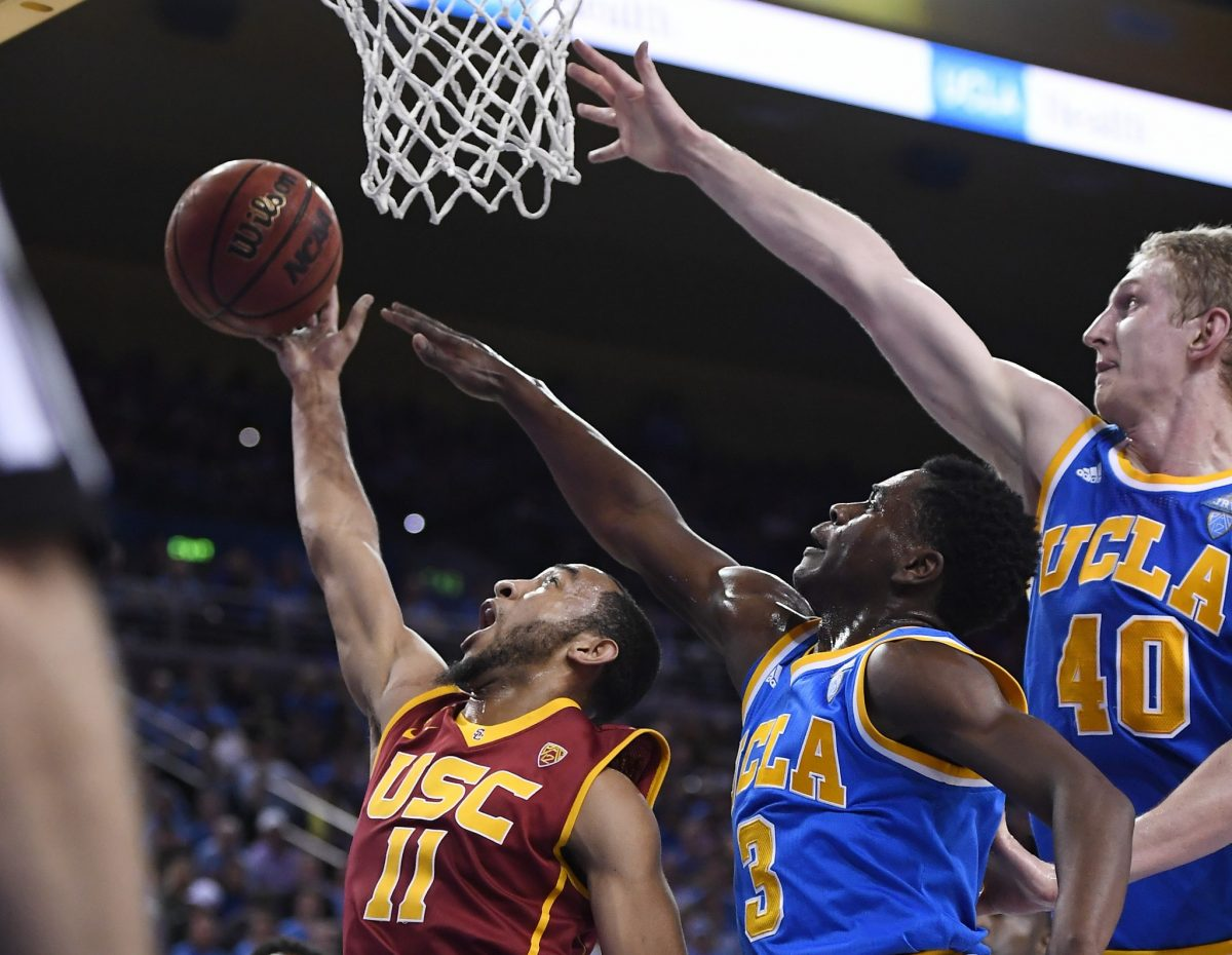 Aaron Holiday and Thomas Welsh both will be veteran leaders for UCLA next season. (AP)