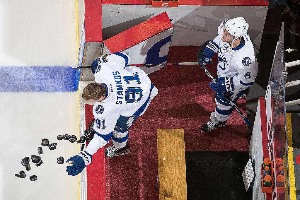 Stamkos out four months after knee surgery