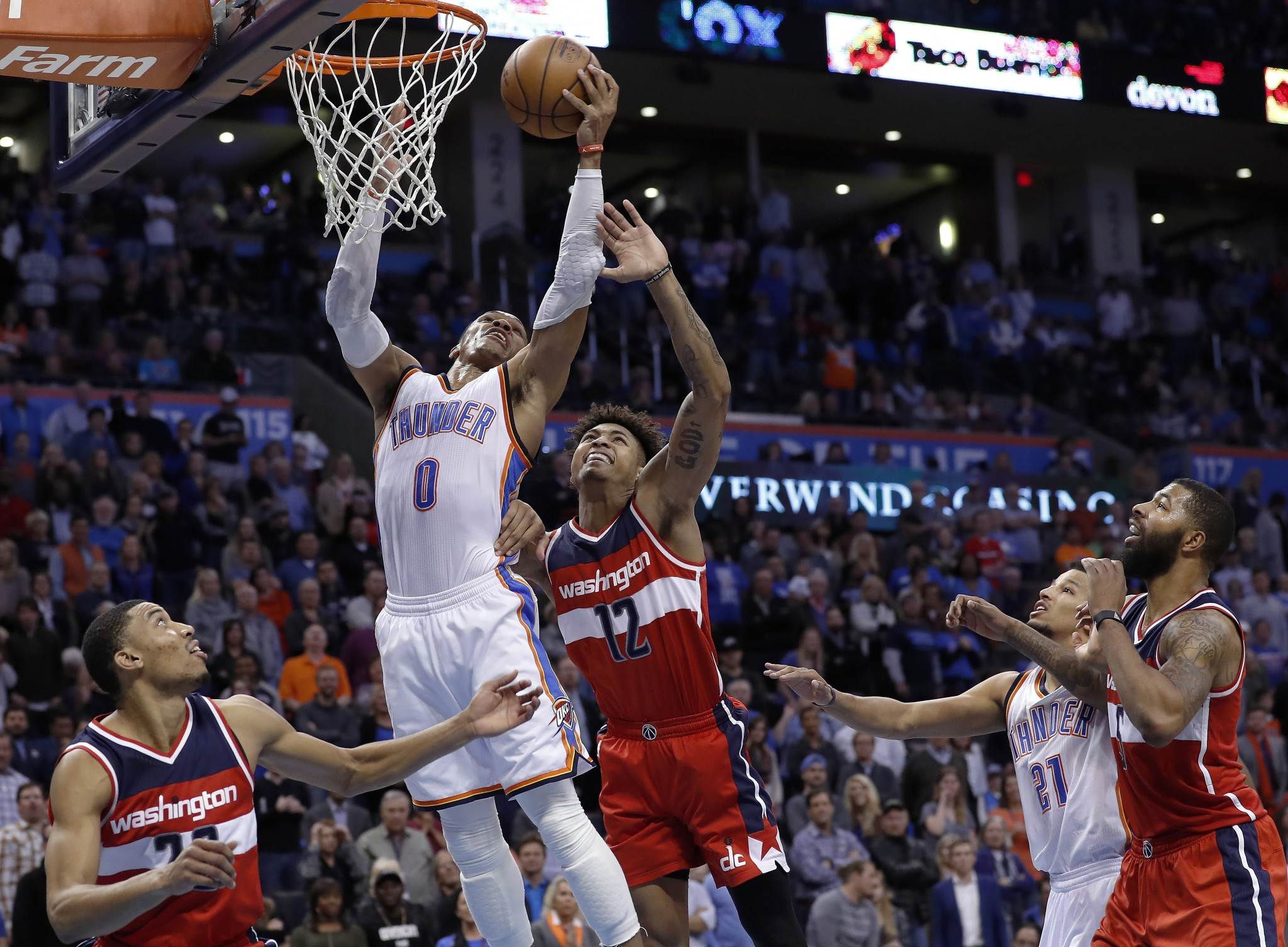 Russell Westbrook dominates late, posts 4th straight triple-dou…