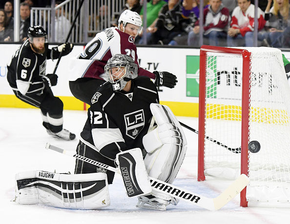 Jonathan Quick out 'week-to-week' with lower-body injury