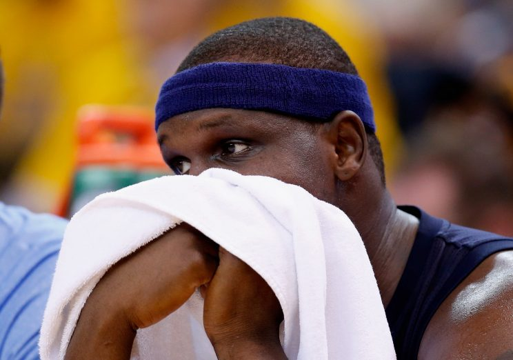 Zach Randolph will come off the bench for the 1st time in 14 ye…