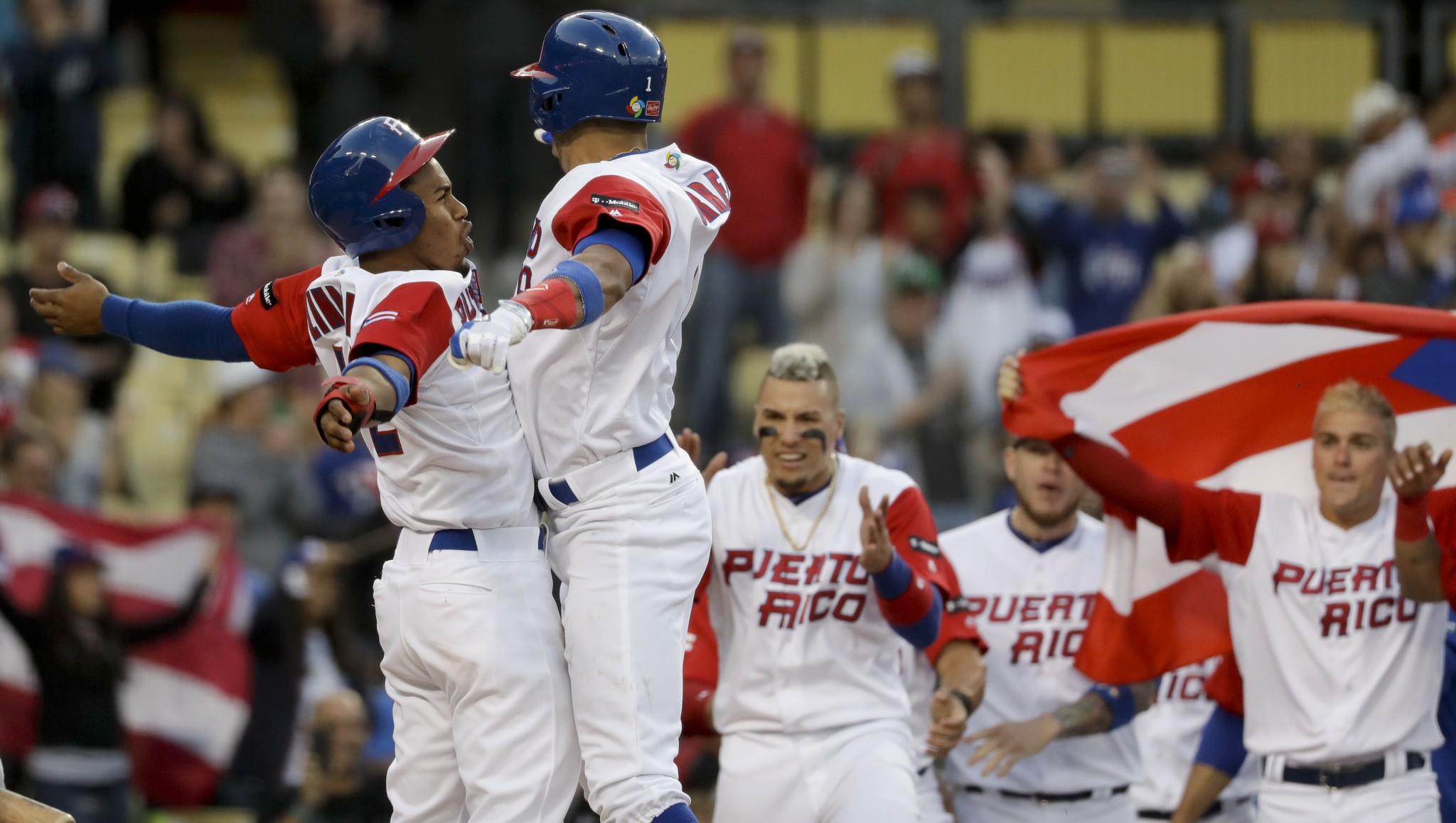 Puerto Rico is heading back to the WBC finals. (AP)