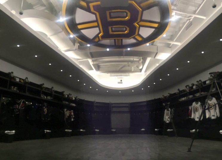 In praise of Boston Bruins and locker room logo logic
