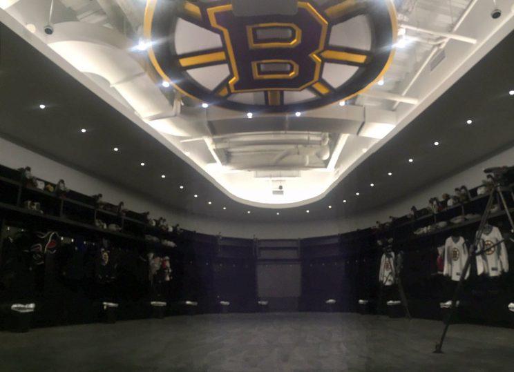In praise of Boston Bruins and locker room logo logic