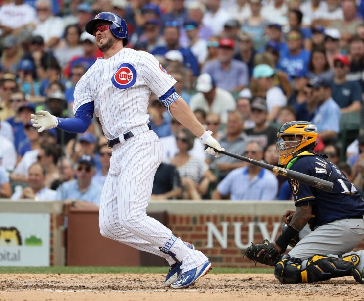 Kris Bryant turns in MVP-caliber performance in win over Brewer…