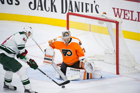 Michal Neuvirth out 4-6 weeks with lower-body injury