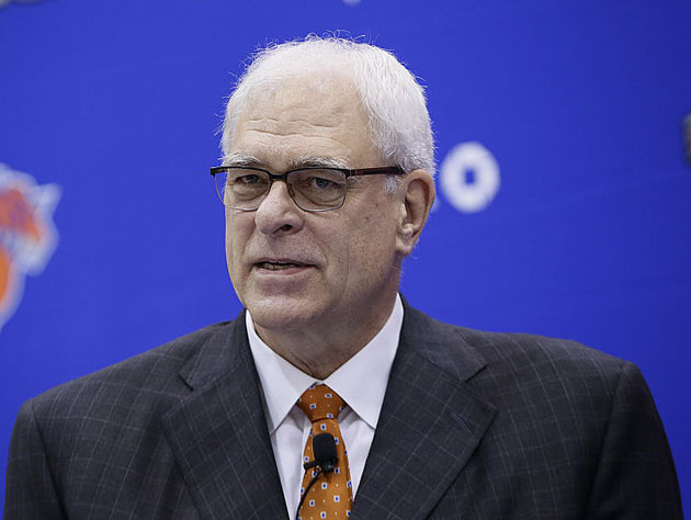 Phil Jackson says the Knicks are 'not concerned' about Derrick …