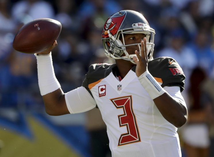 Jameis Winston and the Buccaneers are suddenly tied for first p…
