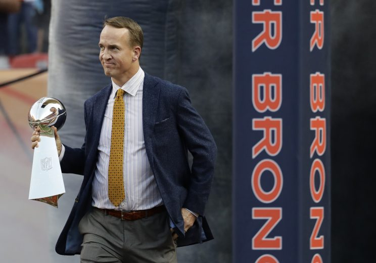 What's Peyton Manning up to? Tobogganing down the Great Wall of…