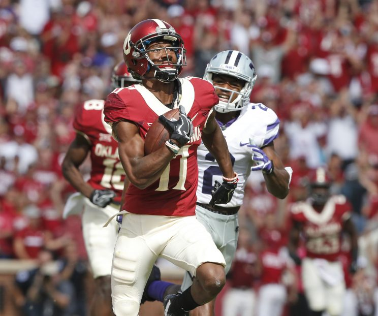 Jaguars take WR Dede Westbrook, another Oklahoma product with serious character questions