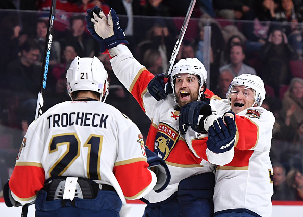 Aaron Ekblad beats Carey Price on broken stick OT winner (Video…
