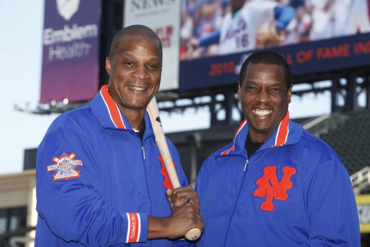 Darryl Strawberry is urging former teammate Doc Gooden to get help for his addiction now. (AP Images/Seth Wenig)