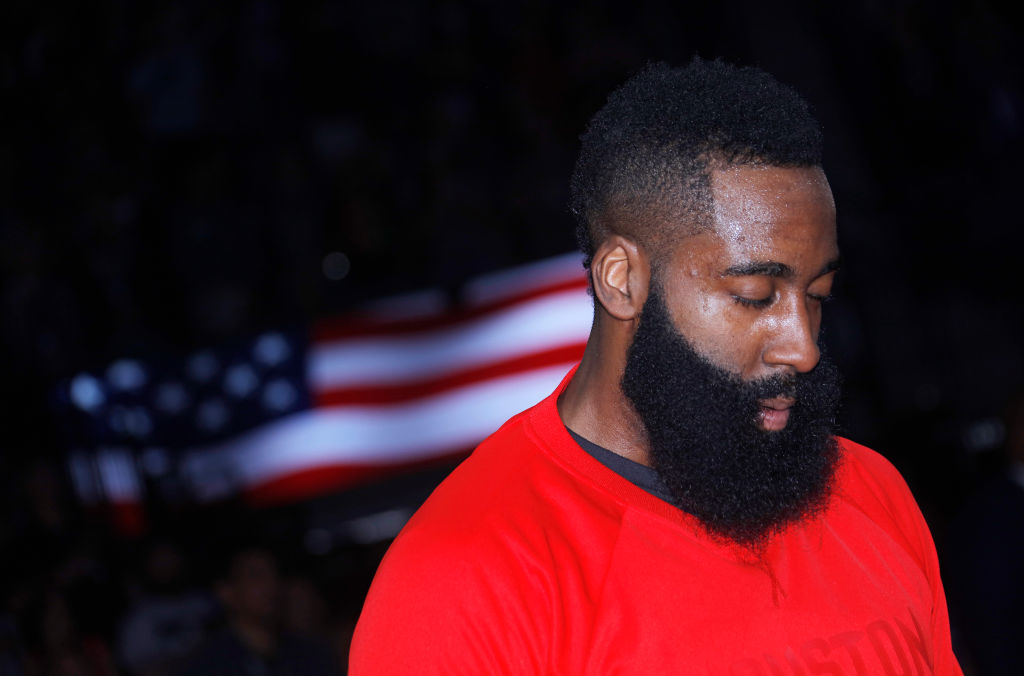 James Harden says he plans to be a Rocket for life. (Rocky Widner/NBAE/Getty Images)