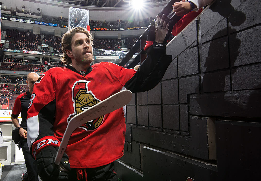 Four more years of Mike Hoffman with Ottawa Senators