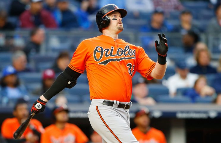 Matt Wieters is officially a Washington National. (Getty Images)