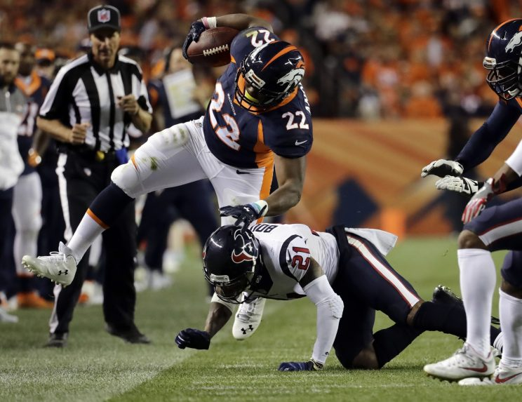 C.J. Anderson denies telling people he's done for the year