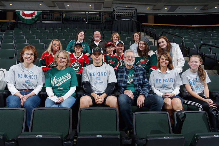 Minnesota Wild honor family, memory of Jacob Wetterling in home…