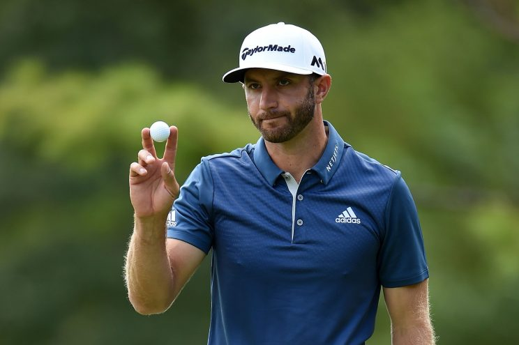 Dustin Johnson is playing the best golf on the planet right now. (Getty Images)