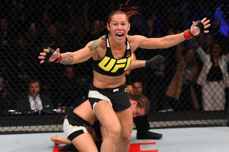 Cristiane Justino made her UFC debut earlier this year. (Getty)