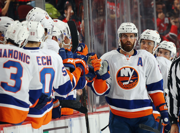 Islanders hitting 'reset button' after getting over playoff hur…