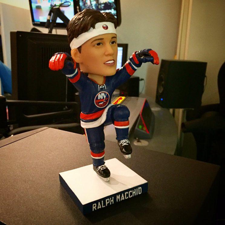 NY Islanders 'Karate Kid' bobblehead has crane kick feature (Ph…