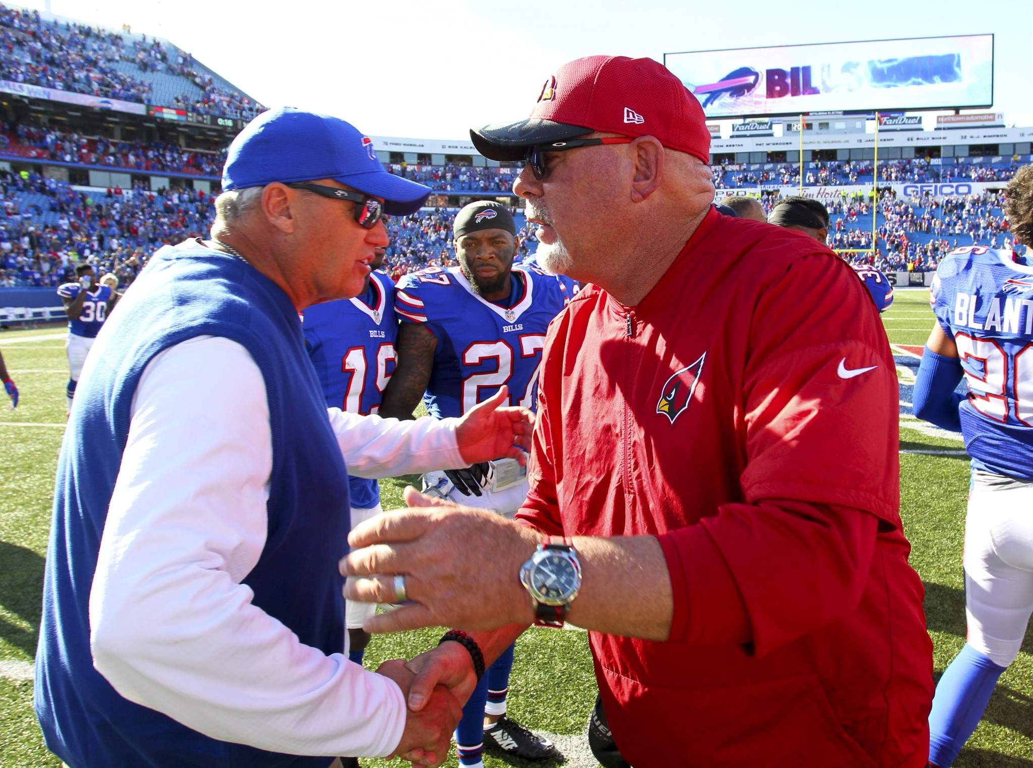 With extra time to prepare and new offensive coordinator, Bills…