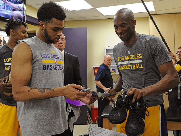 D'Angelo Russell: Kobe Bryant's 'farewell tour' put the Lakers …