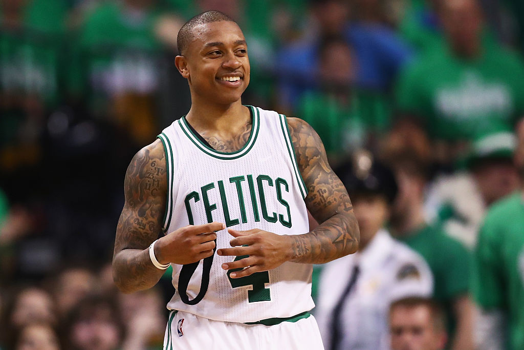 How Isaiah Thomas made a young Celtics fan's day ... twice