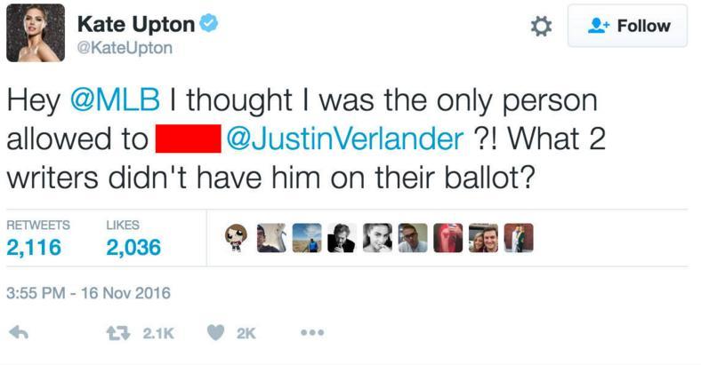 Kate Upton goes on colorful Twitter rant after Justin Verlander…