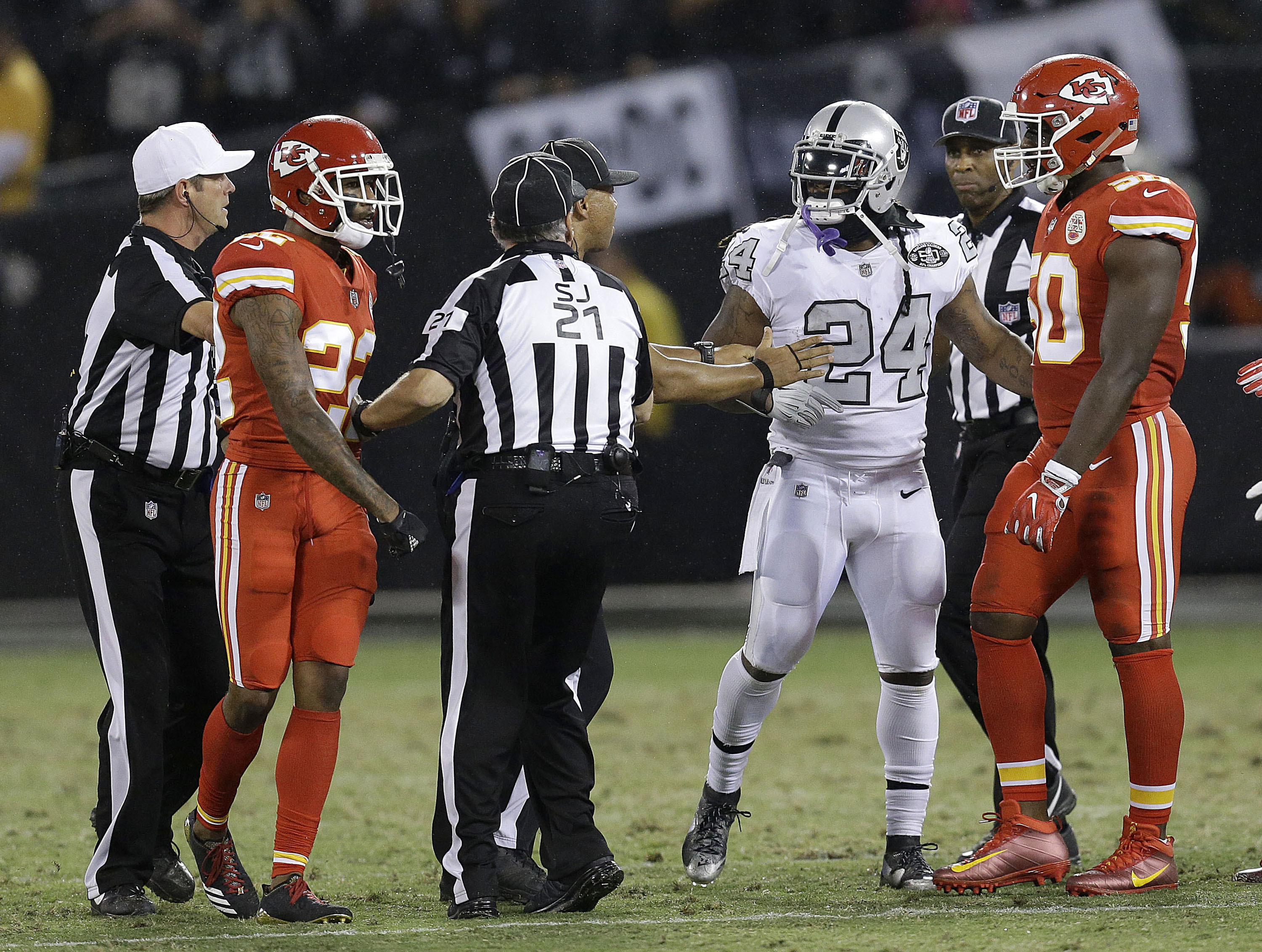 Marshawn Lynch suspended one game by NFL