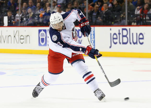 Blue Jackets lose Seth Jones for three weeks with foot fracture