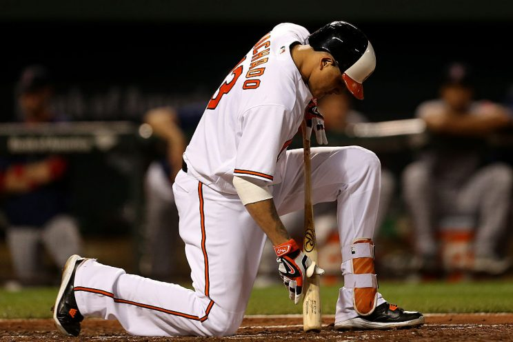 The Orioles have had a terrible, horrible, no good, very bad we…