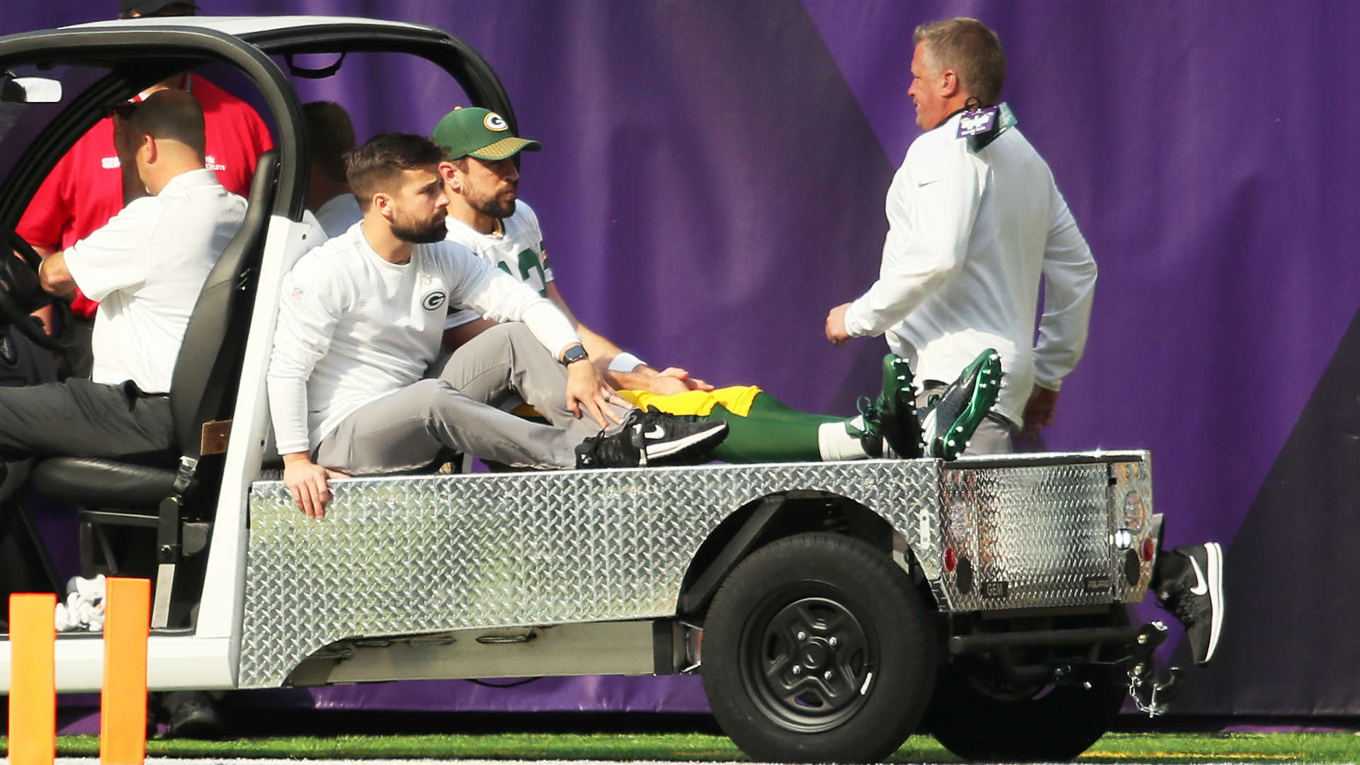 Aaron Rodgers after surgery: 'Comeback starts now'