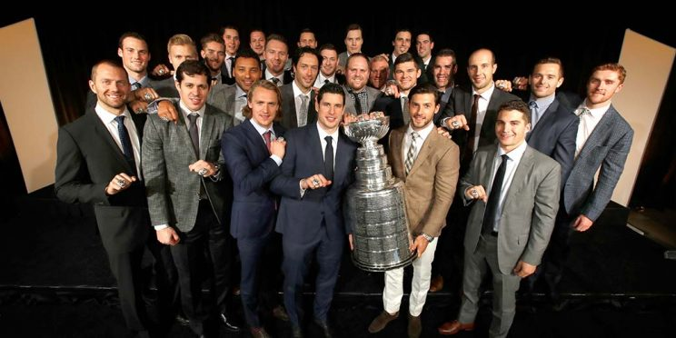 Pittsburgh Penguins' Stanley Cup rings feature over 300 diamond…