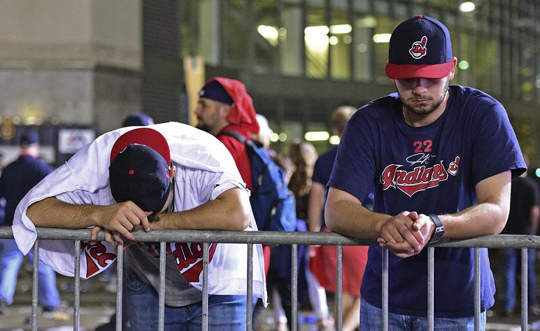 Indians fan might live to regret this World Series tattoo